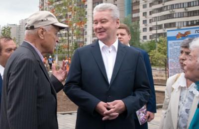 Сергей Собянин встретился с ветеранами и рассказал им о том, каким станет Парк после благоустройства