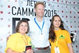 Молодежная палата района Орехово-Борисово Южное представила собственный проект на саммите «Грани будущего»