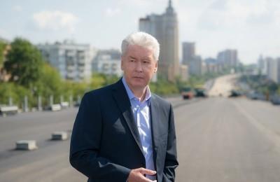 Сергей Собянин заявил, что реконструкция Каширской развязки разгонит южный участок МКАД