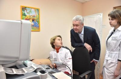 30 июля мэр Москвы Сергей Собянин посетил детскую городскую поликлинику № 94 в СЗАО