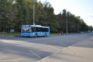 Автобус на Домодедовской улице
