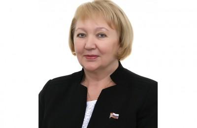 Депутат Алла Афанасьева