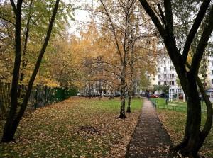 В Москве продолжается благоустройство дворовых территорий