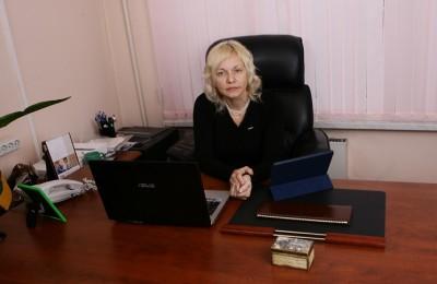 Глава муниципального округа Орехово-Борисово Южное Ирина Глотова