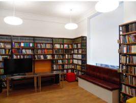 Библиотека имени 1 мая (№ 171) на площади Гагарина