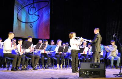 Ледовый концерт прошел в районе Орехово-Борисово Южное