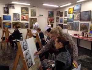Мастер-класс по написанию картин пройдет в районе Орехово-Борисово Южное