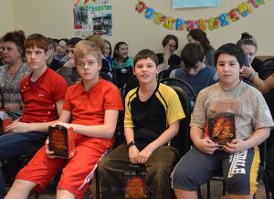 Воспитанники центра содействия семейному воспитанию «Южный»