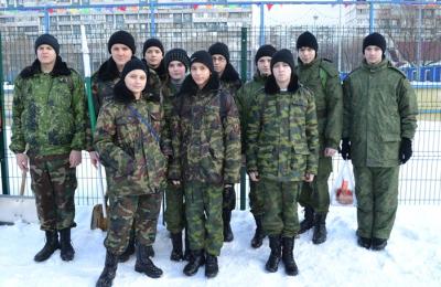 кадеты школы №896