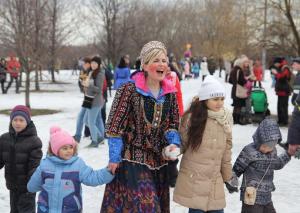 Проводы зимы прошли в музее-заповеднике Коломенское
