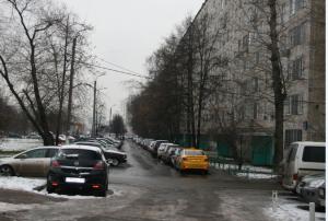 Парковка на улице Ореховый бульвар