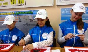 О соблюдении правил ПДД дошкольникам рассказали студенты района Орехово-Борисово Южное