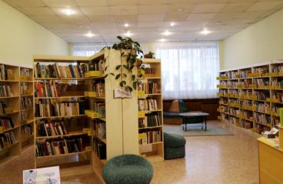 Библиотека в одном из районов Южного округа