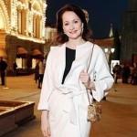 Заслуженная артистка России Ольга Кабо принимает участие в акции Моя Победа, которая стартовала в ЮАО Москвы