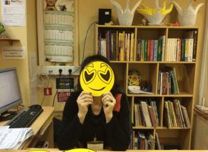 На 1 апреля читателей района Орехово-Борисово Южное встречали «библиотекари в масках»