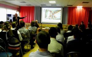 В библиотеке района Орехово-Борисово Южное прошла встреча школьников и сотрудников Роскосмоса