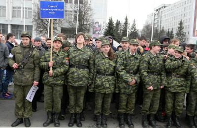 Призывники из района Орехово-Борисово Южное