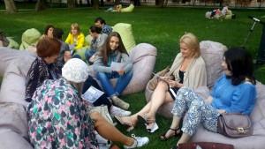 Бесплатные занятия по английскому языку в парке