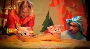 Пьеса поставлена по мотивам русской народной сказки