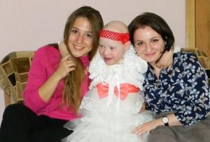 Одна из воспитанниц центра содействия семейному воспитанию «Вера. Надежда. Любовь» – Полина