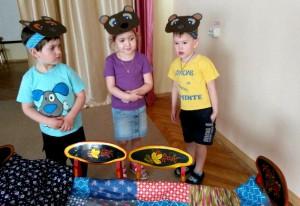 Маленькие актеры театральной студии