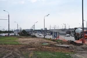 Ремонтные работы на Варшавском шоссе
