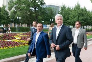 Сергей Собянин рассказал о реализации проектов благоустройства в Москве