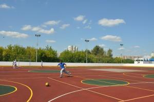 Футбольное поле в ЮАО