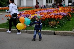 Праздник в Москве