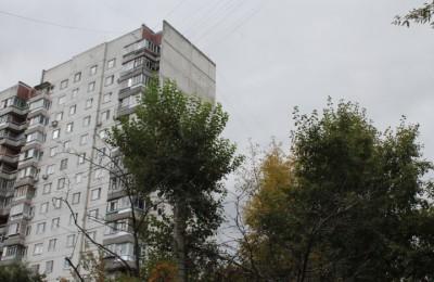 Многоэтажный дом в районе Орехово-Борисово Южное