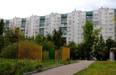 Двор дома в районе Орехово-Борисово Южное