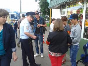Рейд по улицам района Орехово-Борисово Южное