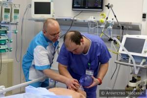 Обучение в симуляционном центре Боткинской больницы пройдут более семи тысяч медиков