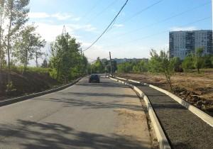 Пешеходная дорожка в районе Орехово-Борисово Южное