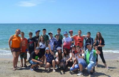 Ребята отдыхали в составе команды «ПепСи-Ро» во второй смене в городе Епатория