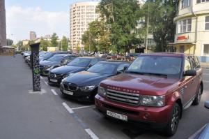 Платная парковка в Даниловском-районе