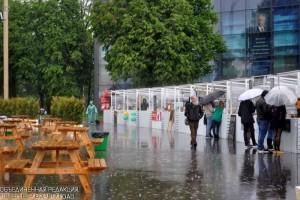 Одна из парковых зон в Москве