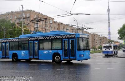 Автобус Мосгортранса в ЮАО