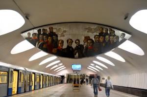Литературная карта метро площадью 150 квадратных метров станет одним из экспонатов Музея Москвы в День города