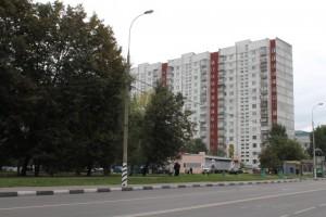 Многоэтажные дома в районе Орехово-Борисово Южное