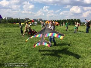 Фестиваль воздушных змеев в мае