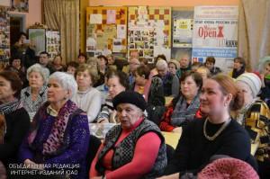 Жители ЮАО на мероприятии в библиотеке №155