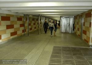 Переход у станции метро «Домодедовская»