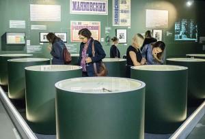 В галерее 'На Шаболовке' открыта уникальная выставка 'Булгаков vs Маяковский'
