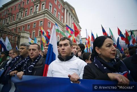 Шествие «Мыедины!» в столицеРФ собрало неменее 80 тыс. человек