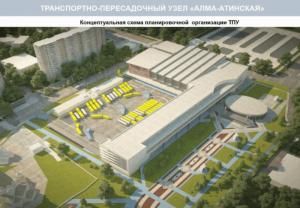 """Проект ТПУ """"Алма-Атинская"""""""