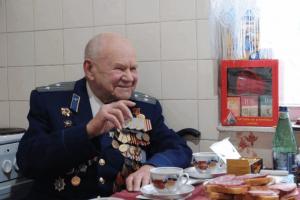 Житель нашего района, ветеран Великой Отечественной войны Григорий Ермолаев