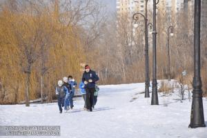 Любители бега в ЮАО
