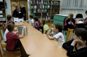 В библиотеке На Ясеневой во время лектория