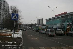 Одна из улиц района
